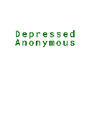 Depressed Anonymous E-BOOK